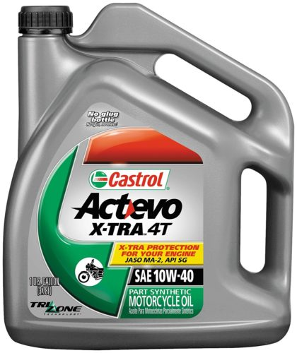 castron actevo best 10W40 part synthetic motorcycle oil