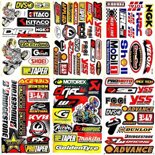 best motocross stickers