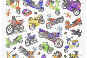 Personalize Your Ride: The Best Motorcycle Stickers