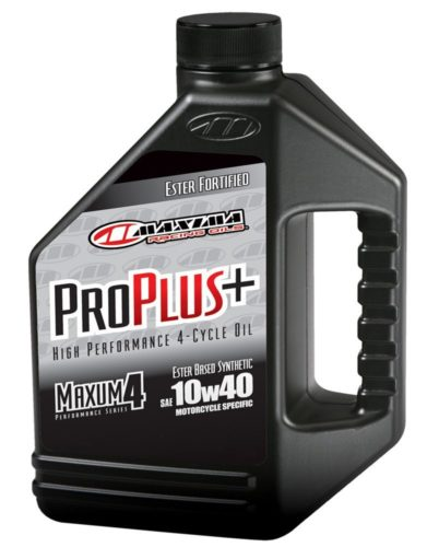 maxima pro plus 10w 40 best motorcyle oil