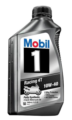 Mobil 1 motorcycle oil for sport bikes